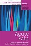 Clinical Pain Management Vol. 1: Acute Pain